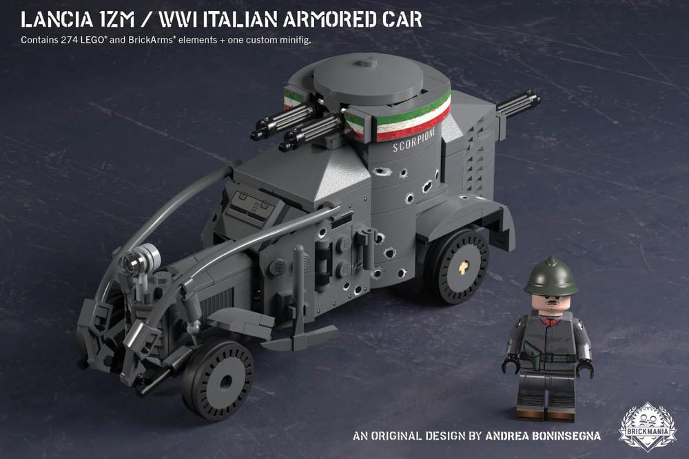 Lancia 1ZM – WWI Italian Armored Car