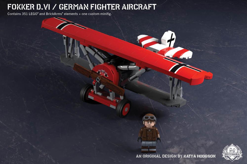 Fokker D.VI – German Fighter Aircraft