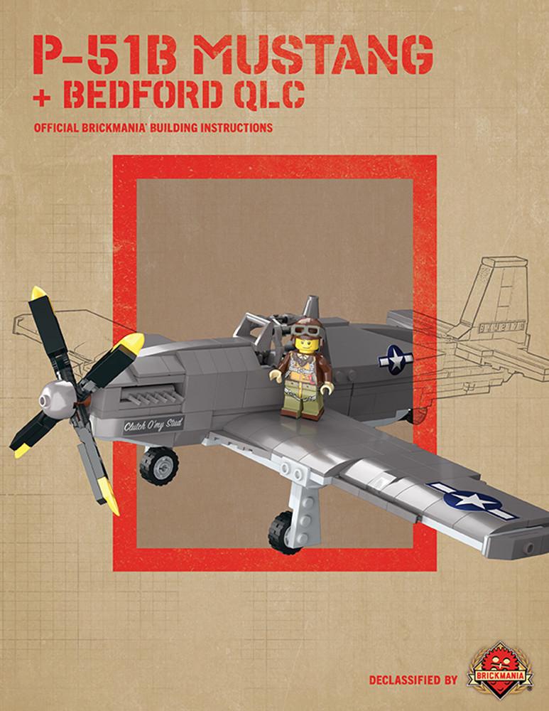 P-51B Mustang + Bedford QLC - Digital Building Instructions