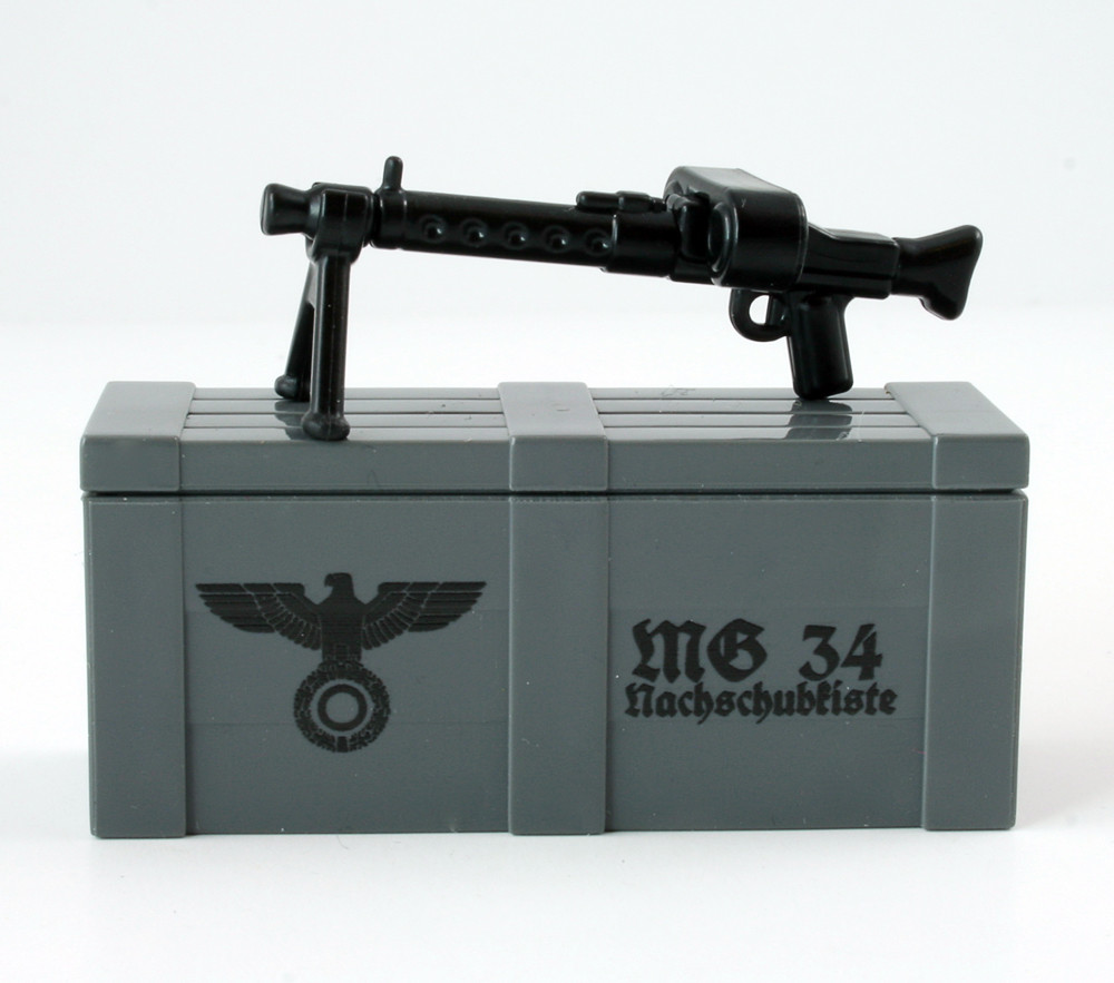 BrickArms® MG34 and Printed Crate