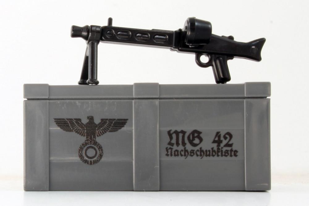 BrickArms® MG42 and Printed Crate