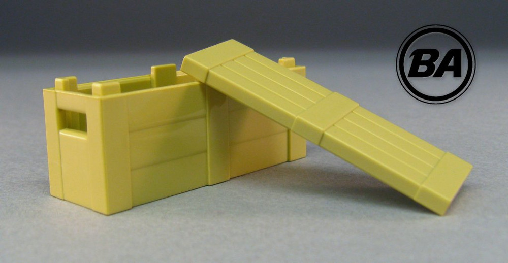 BrickArms® Crate With Lid