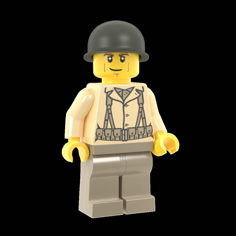 World War II US Rifleman