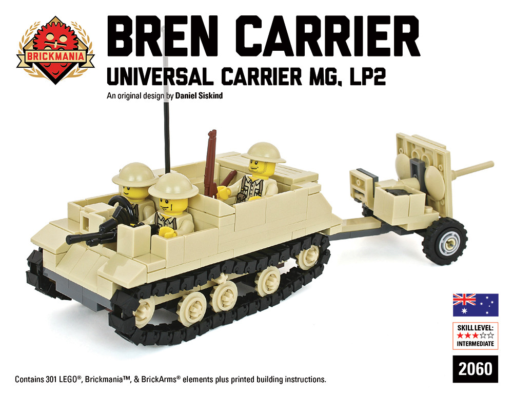 Bren Carrier LP2 with 2 Pounder Anti-Tank Gun