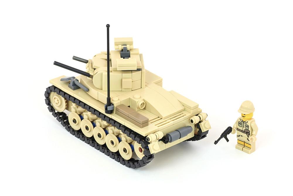 Panzer II Ausf C - Deutsches Afrikakorps Light Tank