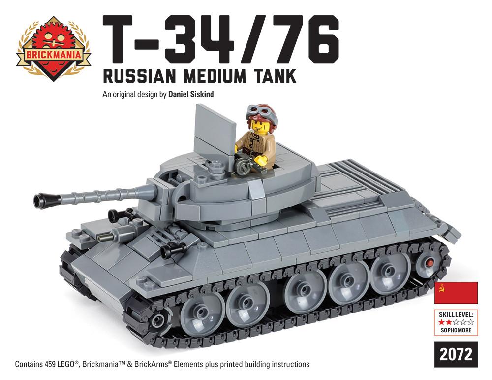 T-34/76 Russian medium tank