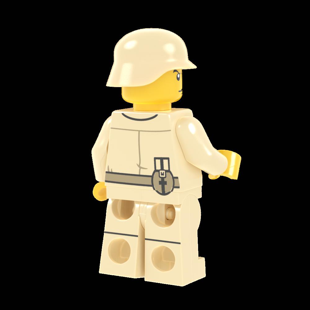 WWII Deutsches Afrikakorps Soldier