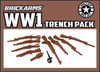 BrickArms® WWI Trench Pack