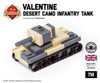 Micro Brick Battle - Valentine (Desert Camo)