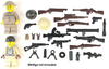 BrickArms® Allies Weapons Pack V2