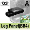 Minifig.Cat Leg Panel (BB4)