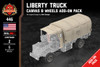 Liberty Truck Canvas & Wheels Add-On Pack