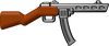 BrickArms Reloaded Overmolded PPSh with Stick Mag