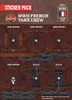 WWII French Tank Crew Sticker Pack