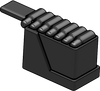 BrickArms Heavy Machine Gun Ammo Box
