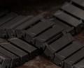 Brickmania® Track Links™ V2 - Chevron Double Wide - Black - x150