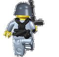 BrickArms German Paratrooper - WWII Field Gear