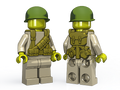 BrickArms US Rifleman - WWII Web Gear