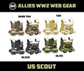 BrickArms US Scout - WWII Web Gear