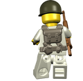 BrickArms US Scout - WWII Web Gear