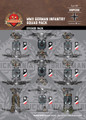 WWII German Infantry - Squad Pack - Sticker Pack