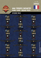 WWI French Infantry (Early War) - Squad Pack - Stickers