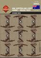 WWI Australian Light Horse - Squad Pack - Stickers