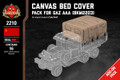 Canvas Bed Cover - Pack for Gaz AAA