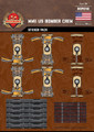WWII US Bomber Crew - Sticker Pack