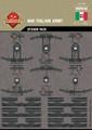 WWI Italian Army - Sticker Pack