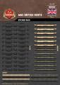 WWII British Boots - Sticker Pack
