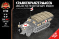 Krankenpanzerwagen - Ambulance Pack for SdKfz 251 Ausf D (BKM2237)