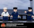 WWII Kriegsmarine Sailors Sticker Pack