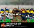 American Civil War Officers Sticker Pack