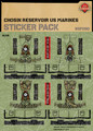 Chosin Reservoir US Marines - Sticker Pack