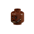Minifig Head - Female with MCH Chinstrap