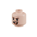 Minifig Head - Female with Cigar