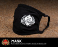 Brickmania Face Mask - White Logo