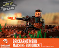 Brickstuff™ BrickArms® M2HB Machine Gun QuicKit with Battery Pack and Sound