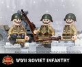 WWII Soviet Infantry - PPSh Pouches