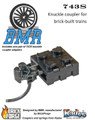 743S Knuckle Coupler Pack - Brick Model Railroader