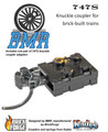 747S Knuckle Coupler Pack - Brick Model Railroader