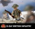 D-Day British Infantry