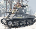 M4A3E2 Sherman Jumbo (BKE2272) - Sticker Pack