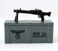 BrickArms® MG34 and Printed Crate