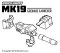 BrickArms Mk19 Grenade Launcher NO TRIPOD
