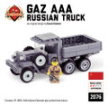 Gaz AAA Russian Truck