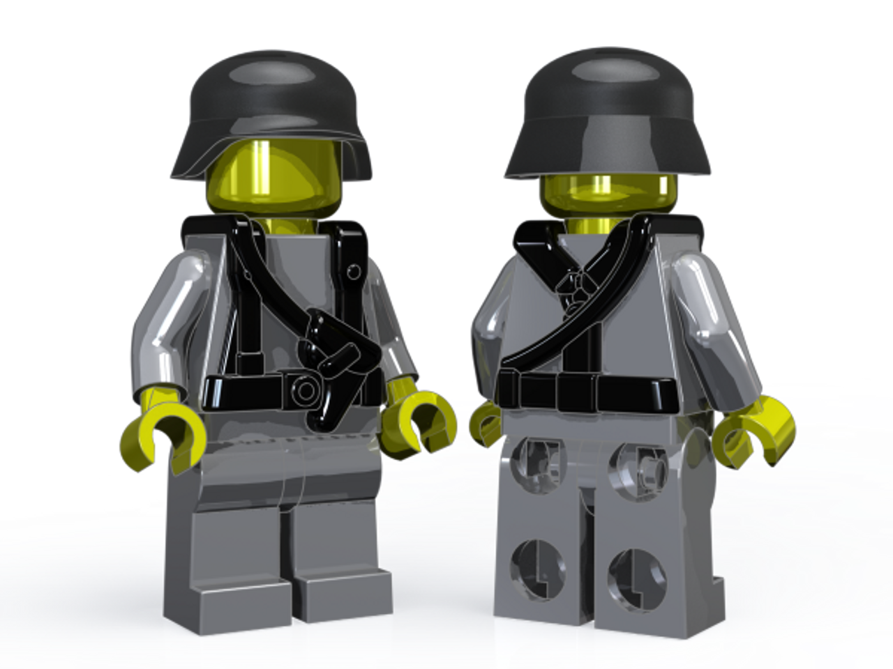 BrickArms German Command - WWII Field Gear