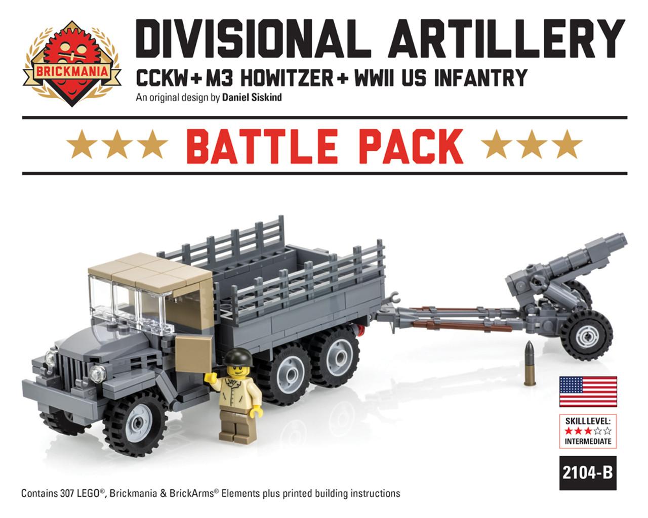 Divisional Artillery Battle Pack