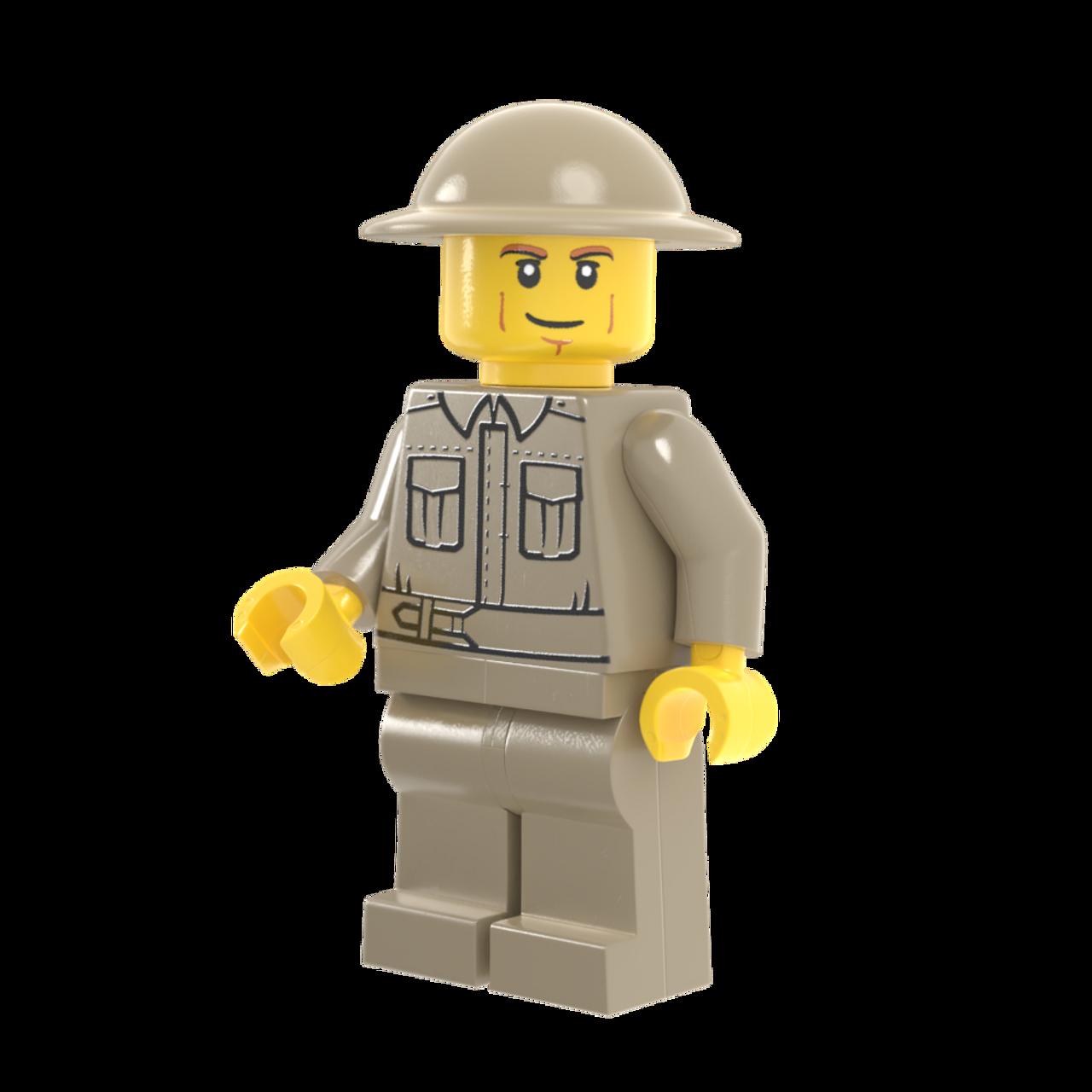 World War II British Infantry